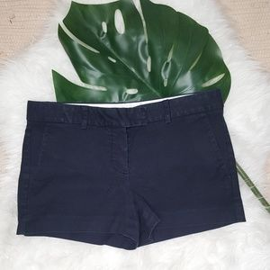 Theory Navy Blue Shorts